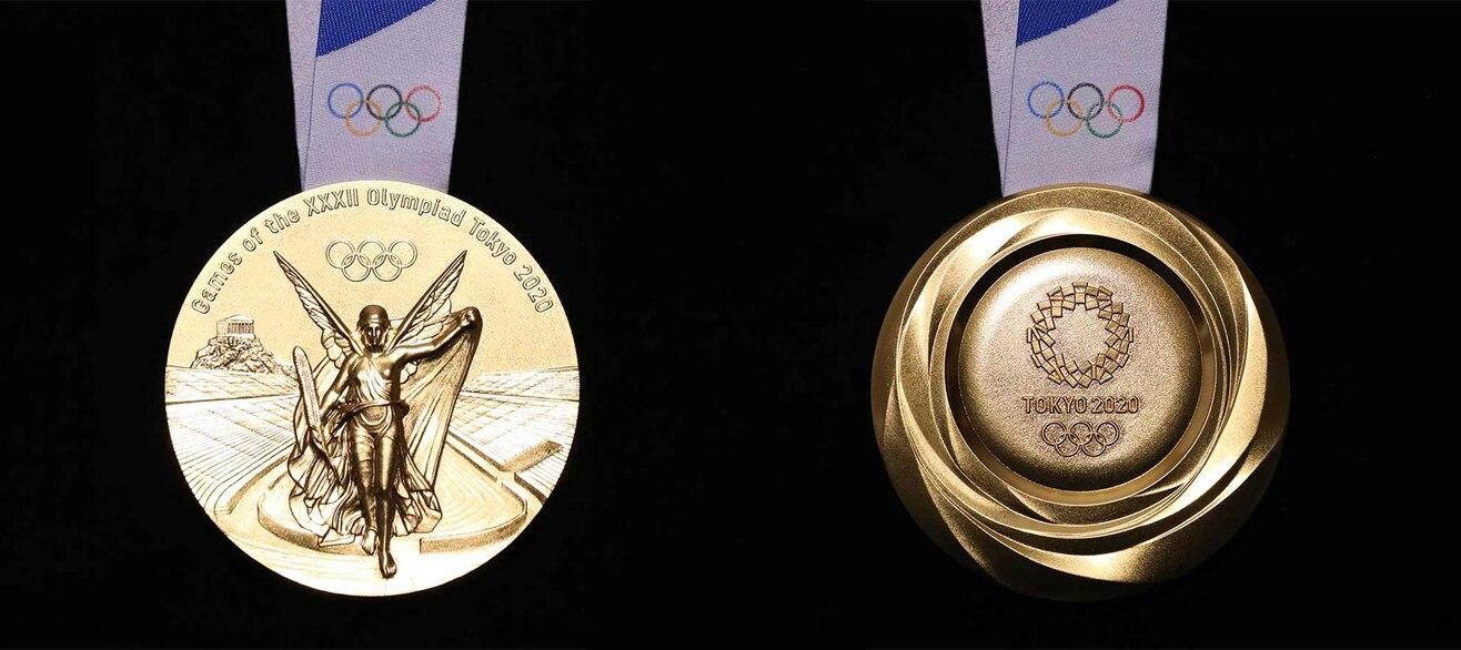 Presentate le medaglie di Tokyo 2020