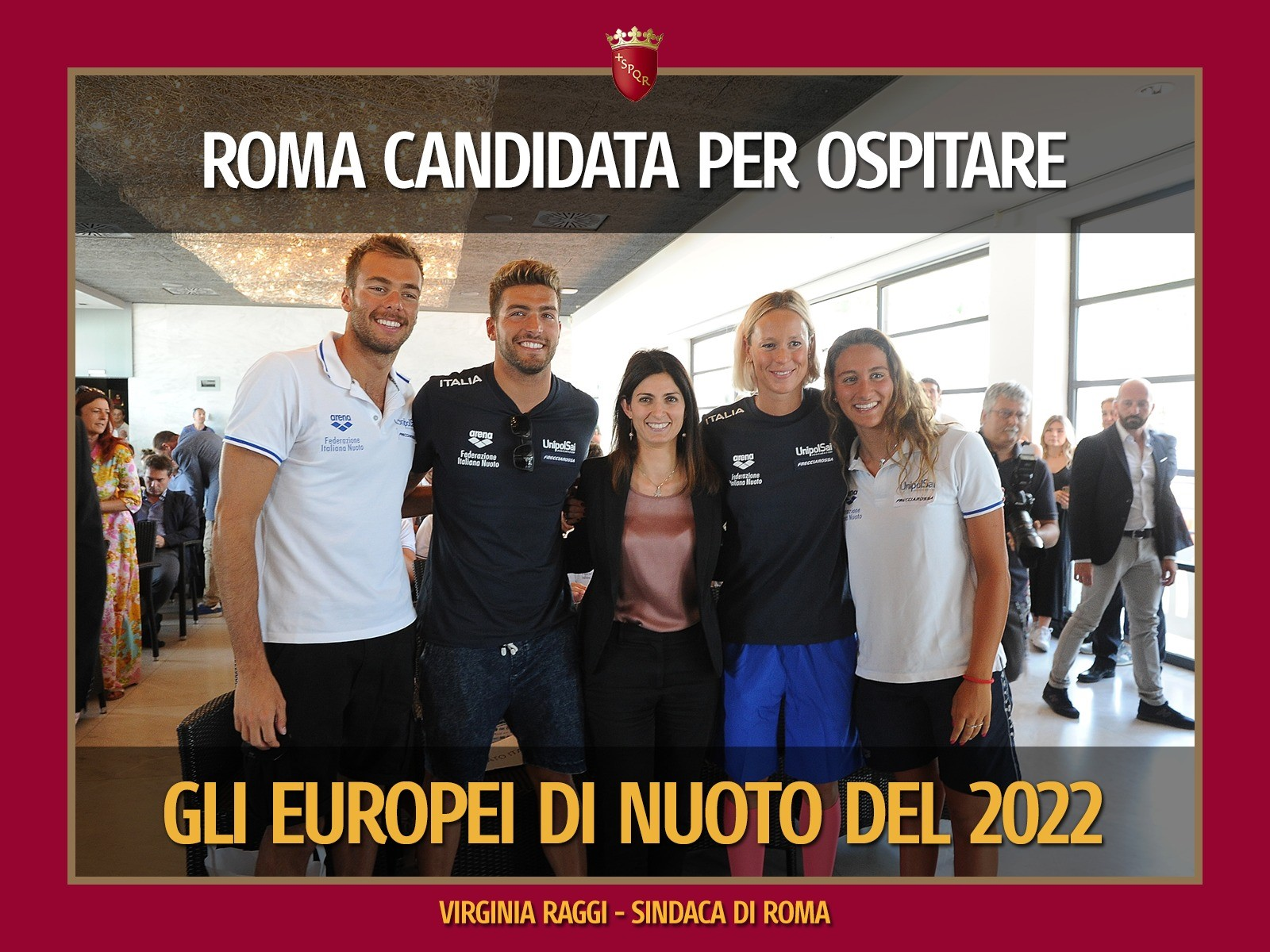 Roma in corsa per l'Europeo 2022