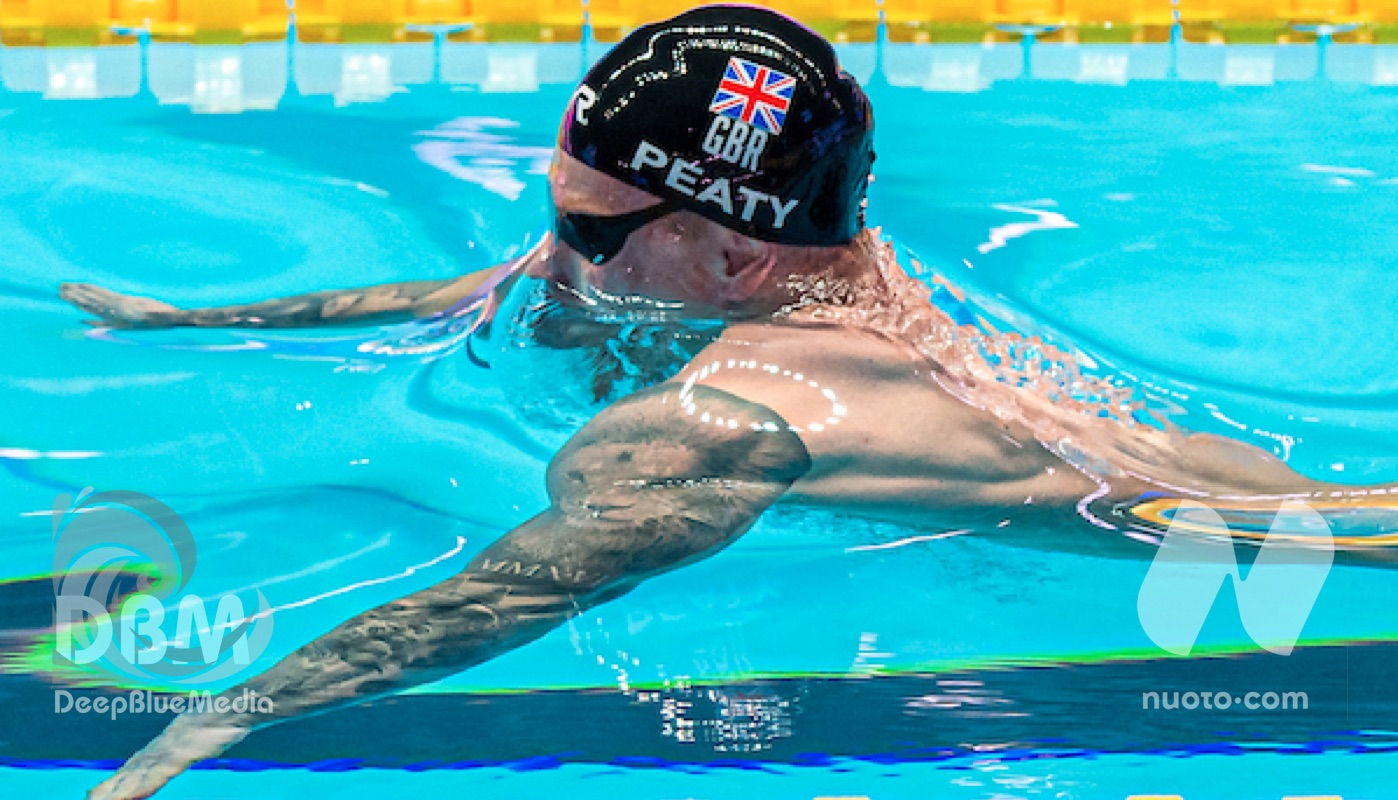 Manchester International Swim Meet confermato.