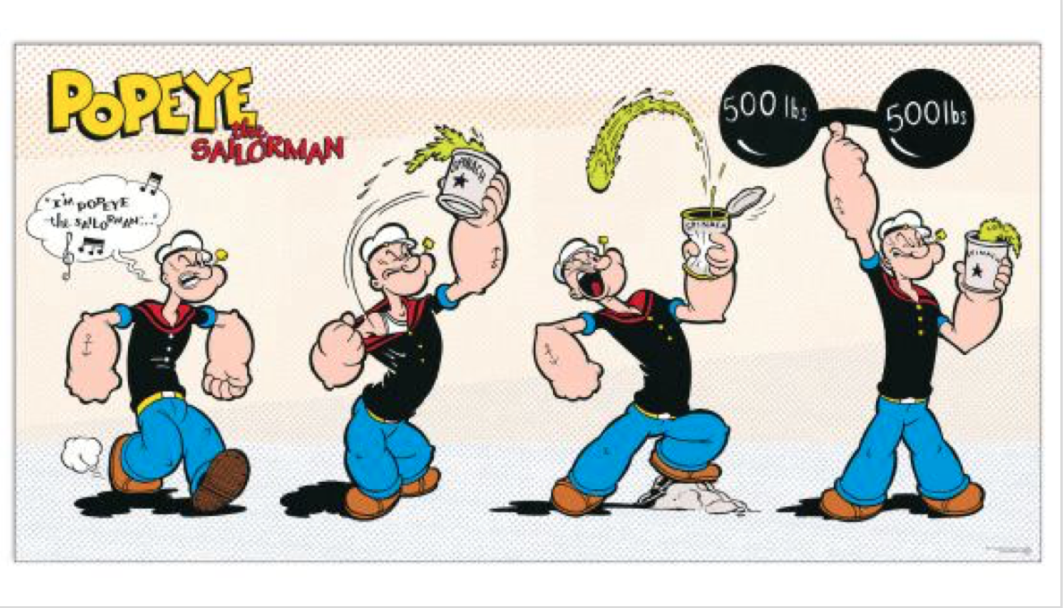 Popeye was right