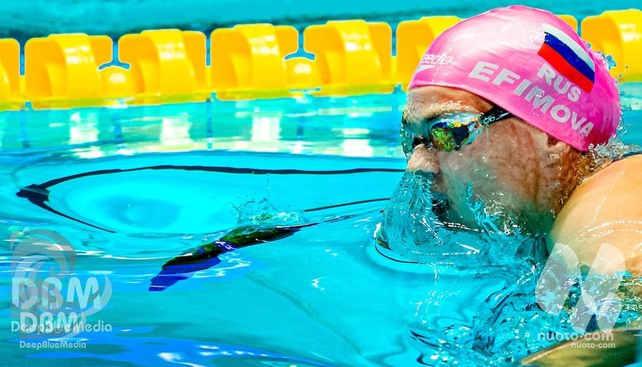 """Efimova: """"Il rinvio di Tokyo non è un problema, avrei continuato a nuotare comunque"""""""