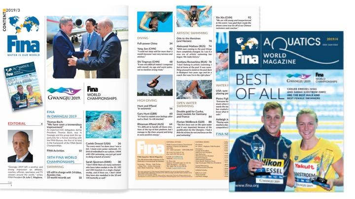 FINA Magazine 2019/4