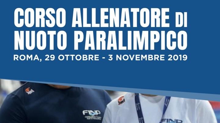 Corso Allenatore di Nuoto Paralimpico F.I.N.P.