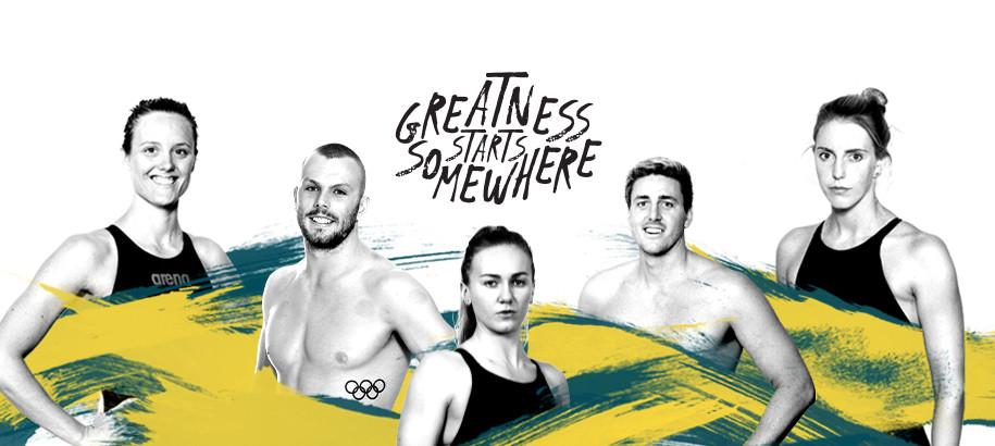 Greatness starts somewhere: Aussie per Tokyo 2020