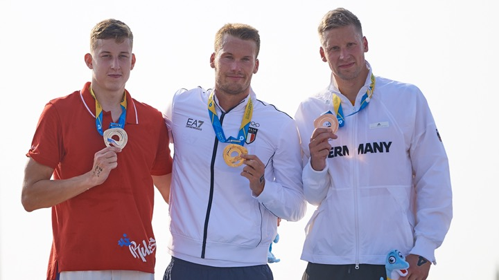 World Beach Games. Guidi vince la 5 km.