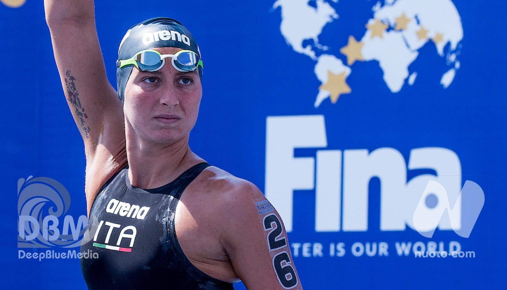 2.5Km donne – Vince Kirpichnikova, Bruni prima delle italiane