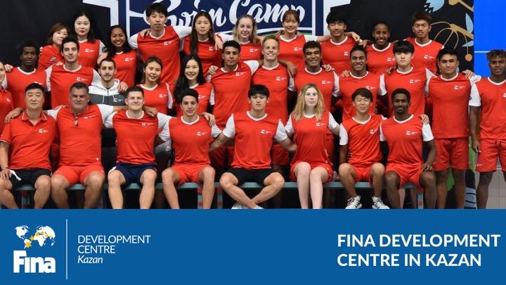 Training Camp FINA a Kazan