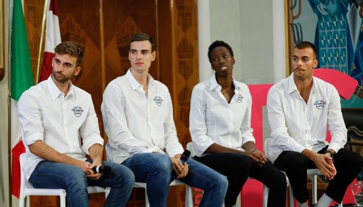 Paltrinieri per il Team Young Italia di Unipol Sai