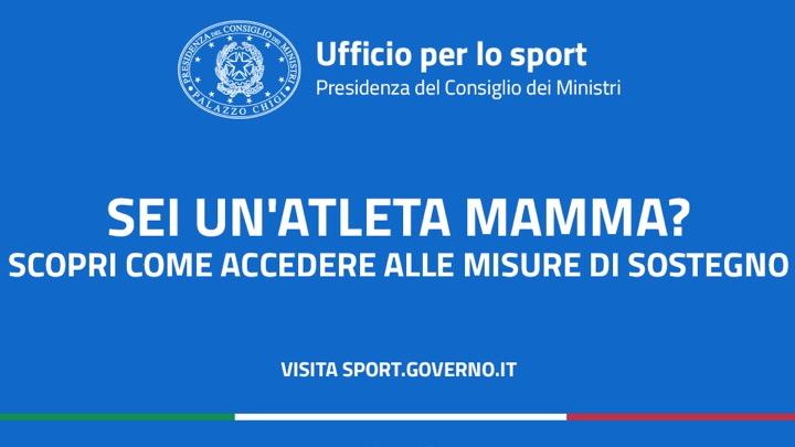Mamme Campionesse: il governo al sostegno delle atlete