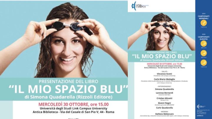 Simona Quadarella presenta il suo libro a Roma