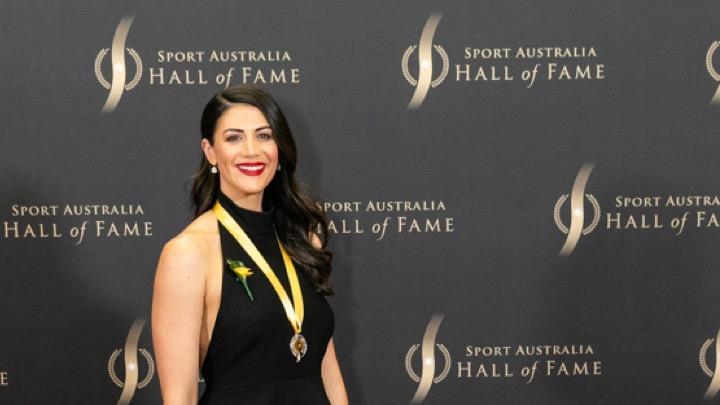 La Rice nella Hall of Fame di Sport Australia