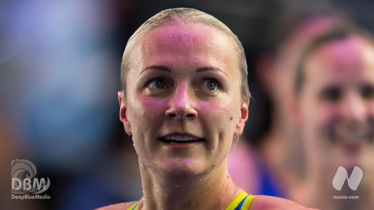 Sarah Sjöström. Infortunio sul ghiaccio a Stoccolma. Domani l'intervento chirurgico al braccio. (Foto)