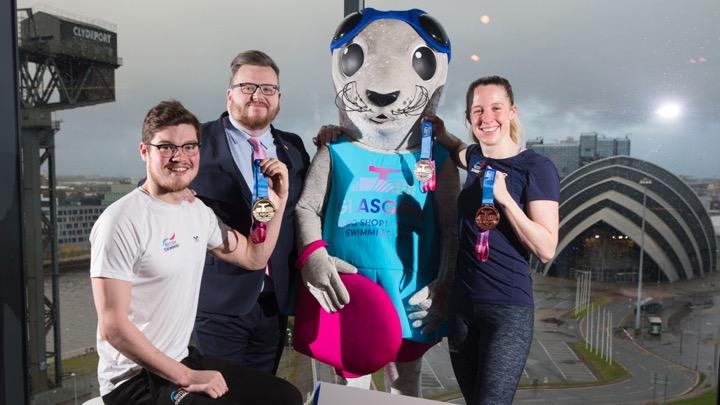 Presentate le medaglie di Glasgow
