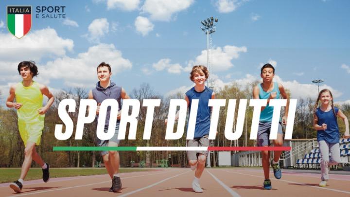 """Sport e Salute: Progetto """"Sport di tutti"""""""