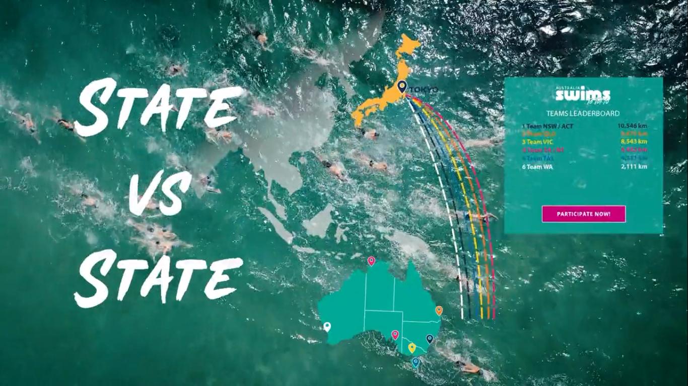 L'Australia nuota verso Tokyo 2020