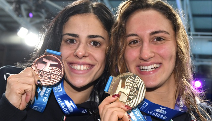 Giorno 2 – Quadarella d'Oro, Caramignoli di bronzo, Cocconcelli al Record italiano