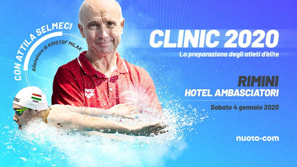 Clinic 2020 con Attila Selmeci: iscrizioni aperte!