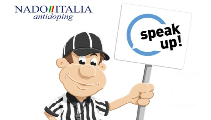 """Nasce """"Speak up"""". Il canale di denuncia di NADO Italia"""