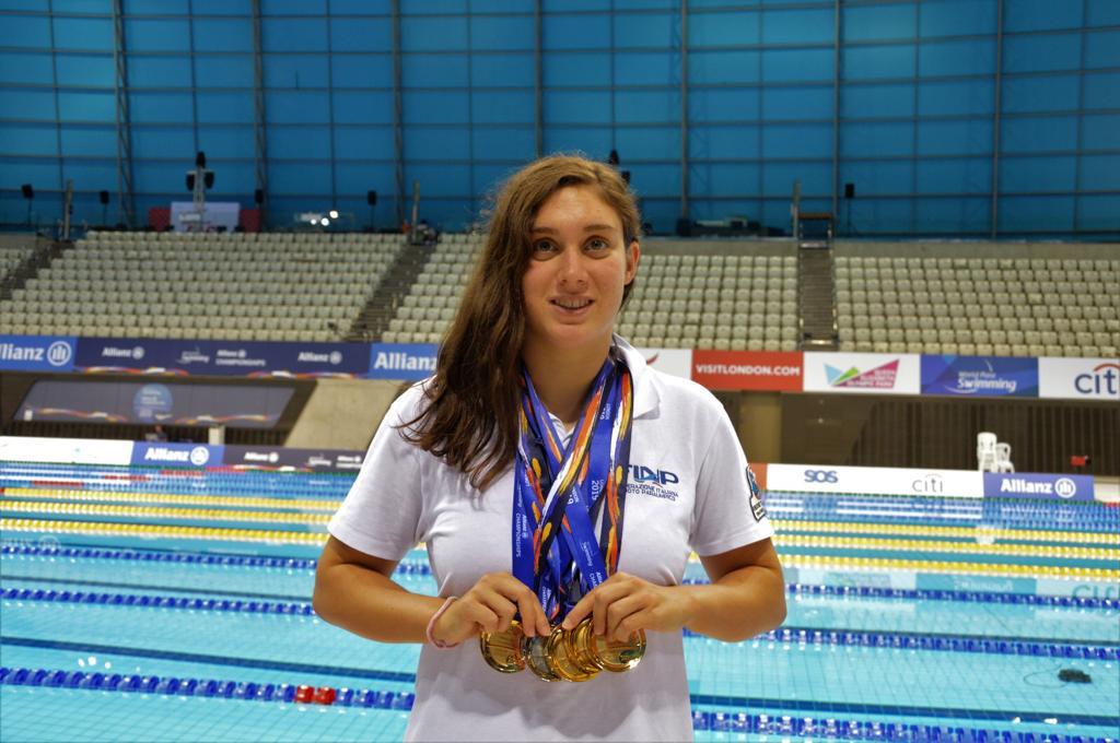 Alla nuotatrice paralimpica Carlotta Gilli il premio come miglior atleta piemontese di tutto il 2019