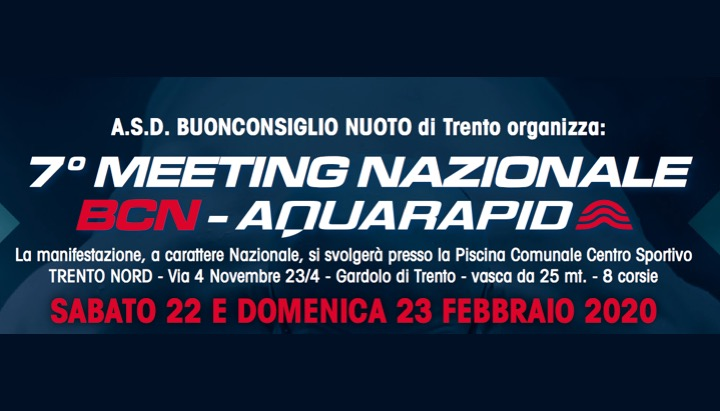 7° Meeting Nazionale BCN – Aquarapid