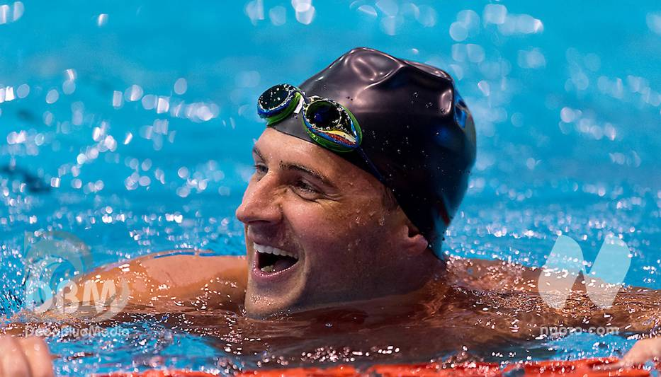 Ryan Lochte guarda ai Giochi 202ONE