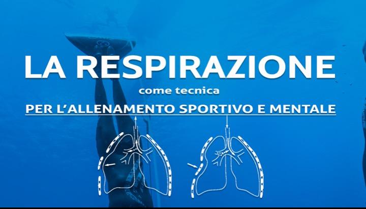 La respirazione come tecnica per l'allenamento sportivo e mentale