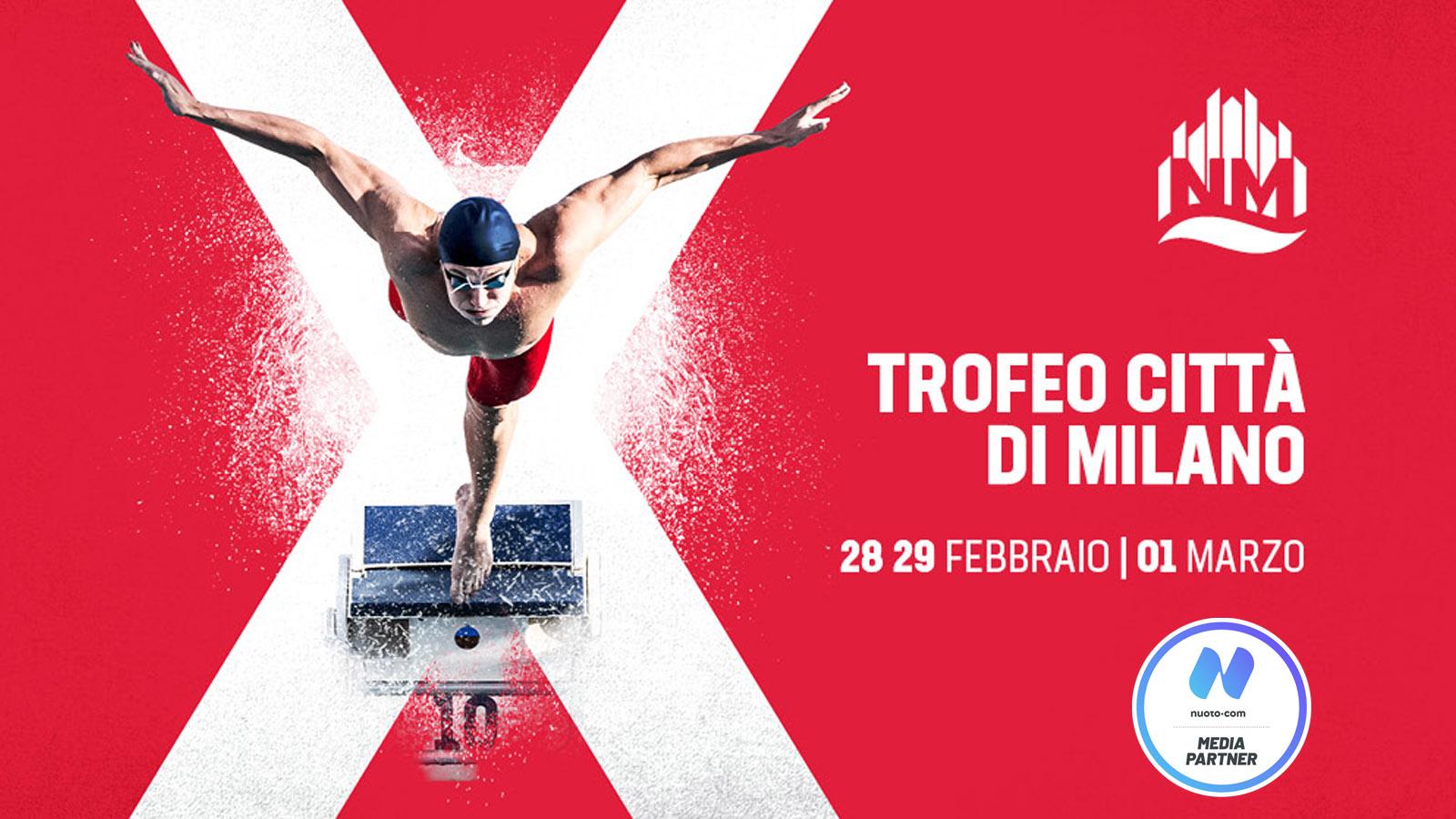 Gli azzurri per il X Trofeo città di Milano