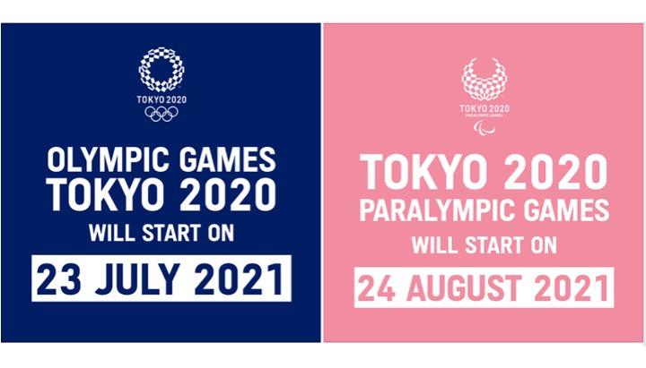 Tokyo 2020NE – ufficiale dal 23 luglio all'8 agosto 2021