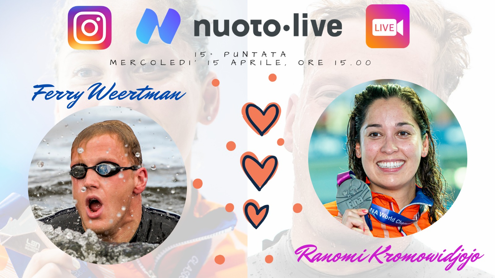 "#Nuotopuntolive, 15° puntata. Kromowidjojo&Weertman: ""Tokyo il nostro obiettivo. Poi vedremo."""