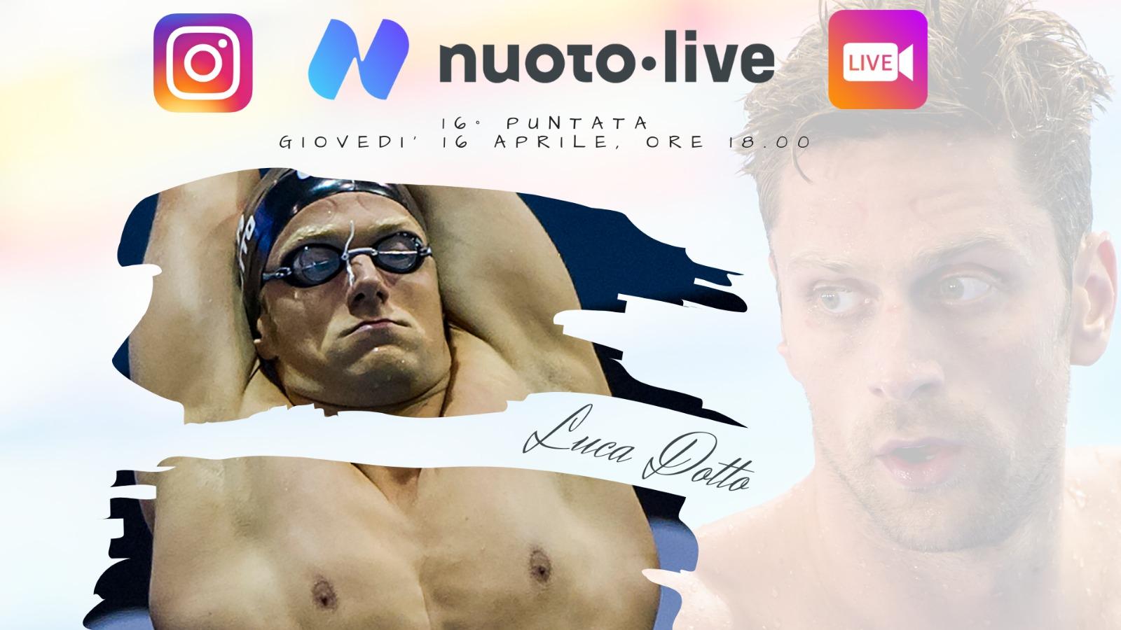 """#Nuotopuntolive 16° puntata. Luca Dotto: """"amo il mare perchè mi fa sentire libero"""""""