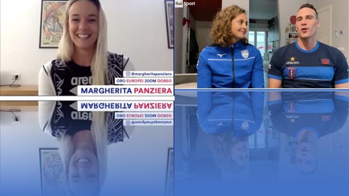 Margherita Panziera, Martina Carraro e Fabio Scozzoli