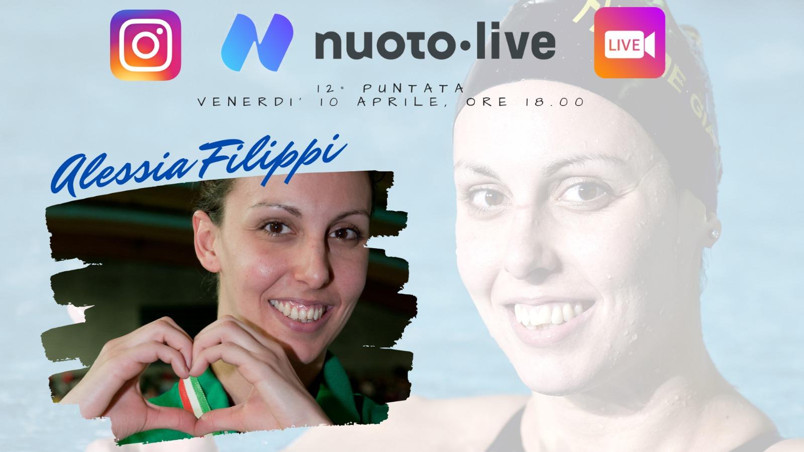 """#Nuotopuntolive, 12° puntata. Alessia Filippi: """"Mondiali di Roma: partecipare e vincere nella mia città è stato un sogno."""""""