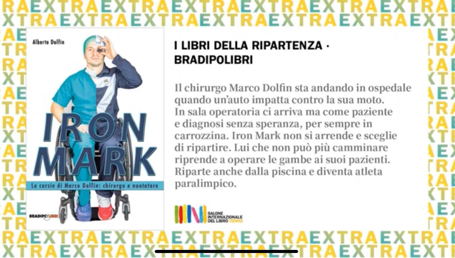 """""""Iron Mark"""", il libro su Marco Dolfin"""