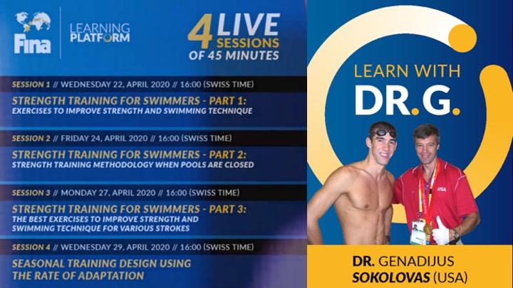 FINA Learning. Disponibili i video del Dr. Genadijus Sokolovas