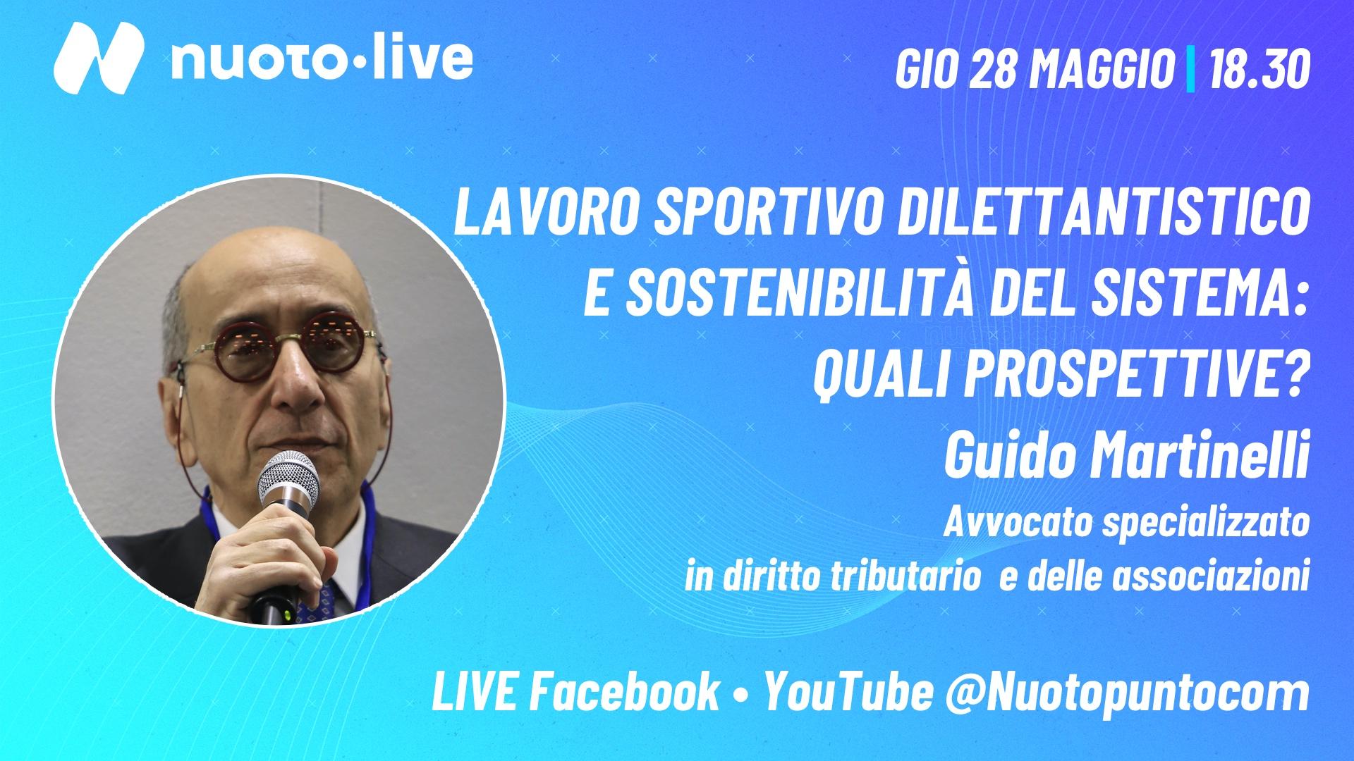 """""""Stabilizzare il sistema responsabilizzando gli enti locali"""": Guido Martinelli a Nuoto•live"""