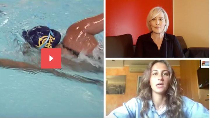 Simona Quadarella su SkySport (video)
