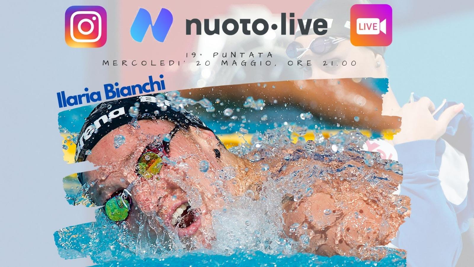 """#Nuotopuntolive, Ilaria Bianchi: """"Ho iniziato a nuotare a cinque anni e non ho ancora smesso""""."""