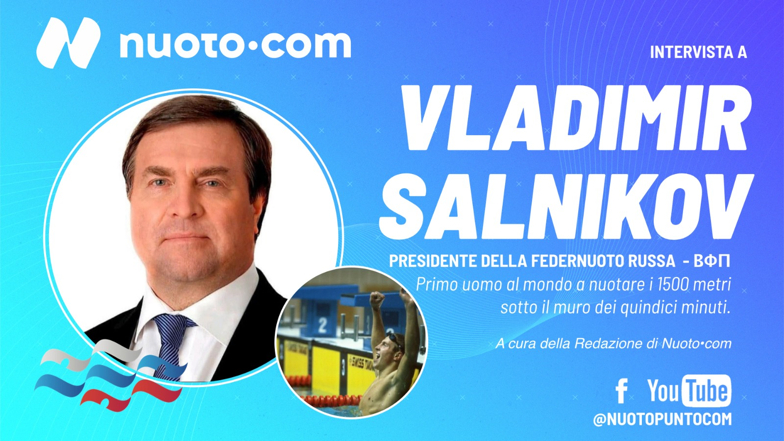 In arrivo l'intervista video a Vladimir Salnikov