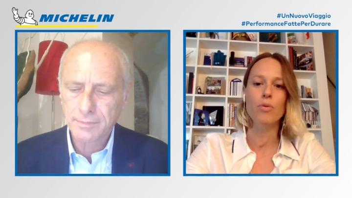 Massimo Caputi intervista Federica Pellegrini per Michelin (Video)