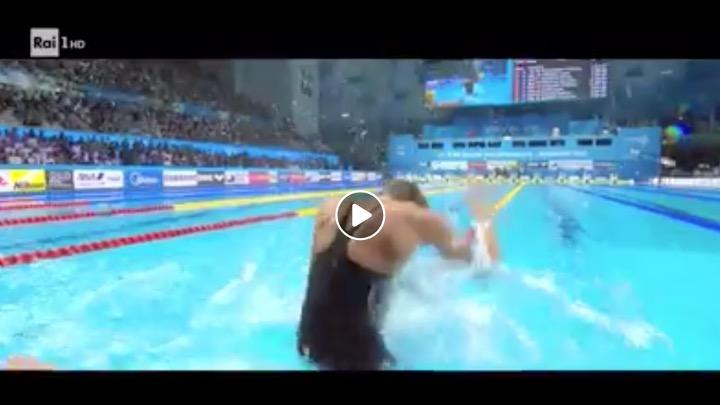 """Stasera Federica Pellegrini su Rai 1 per """"Non mollare mai …""""  (Video)"""