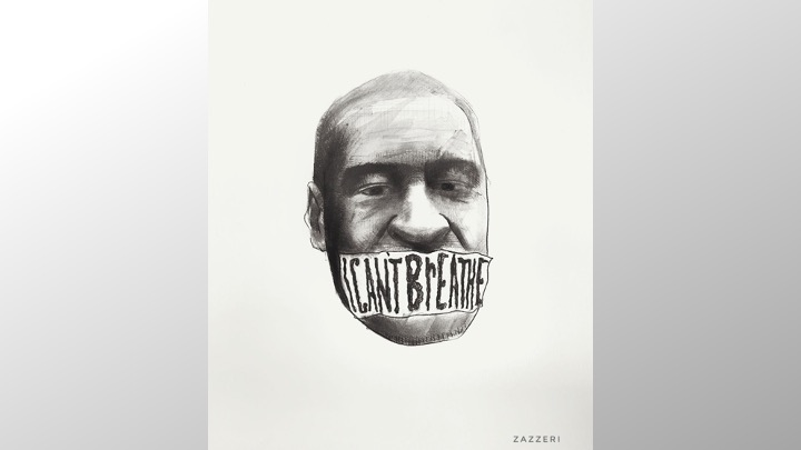 Lorenzo Zazzeri per George Floyd