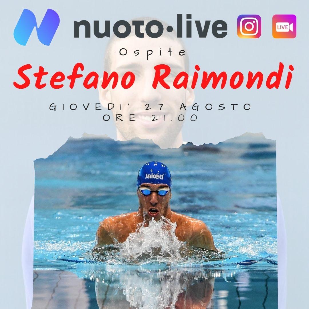 Stefano Raimondi su Instagram per Nuotopuntolive