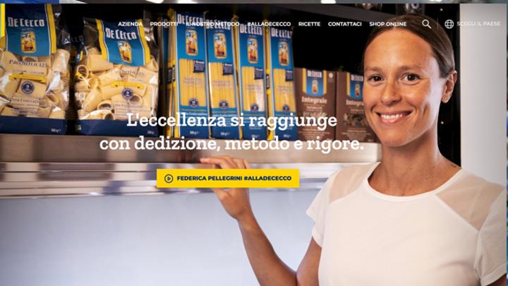 De Cecco sceglie Federica Pellegrini per la campagna digitale.