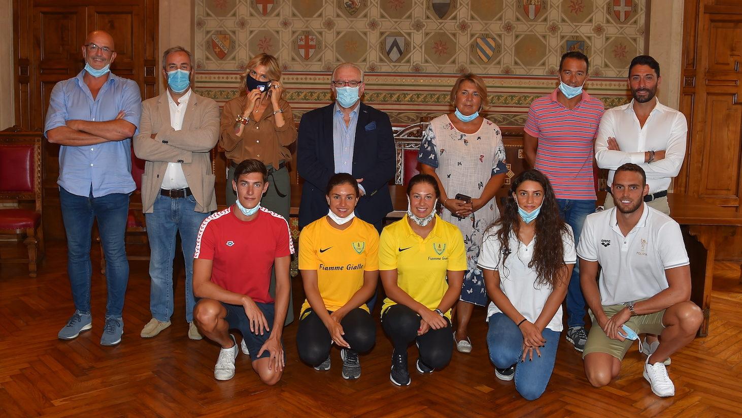 Team Legnano Nuoto, la conferenza stampa di presentazione