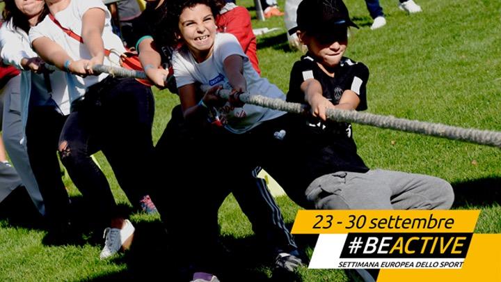 Dal 23 al 30 settembre la Settimana europea dello sport