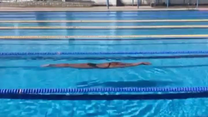 Challenge Dive and Glide. Superato Caeleb Dressel