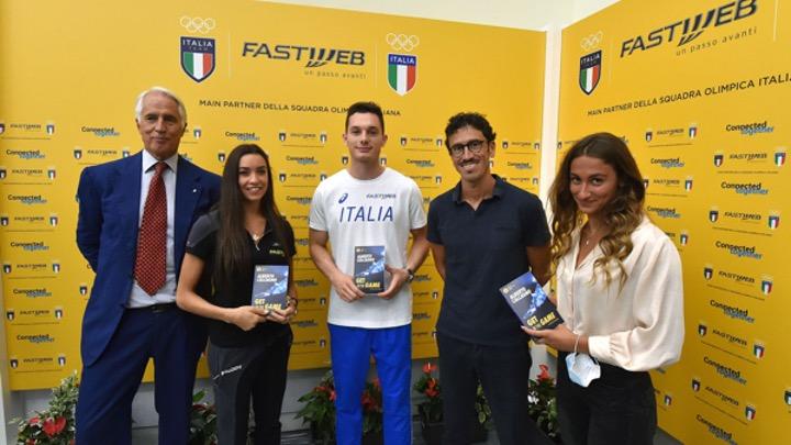 Fastweb Main-Partner per l'Italia Team a Tokyo