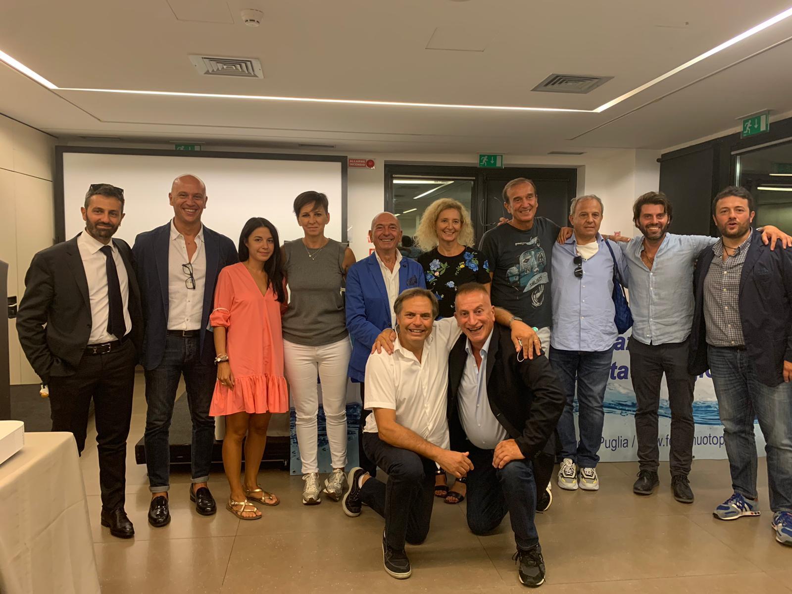 FIN Puglia. Confermato Presidente Nicola Pantaleo