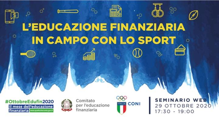 Coni L Educazione Finanziaria In Campo Con Lo Sport Per Tecnici Ed Atleti Nuoto Com