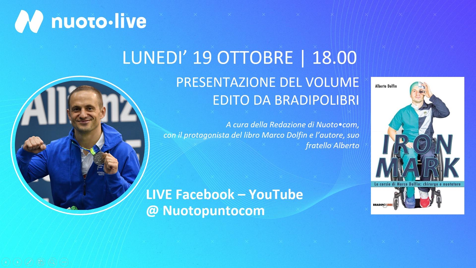 Iron Mark a Nuotopuntolive: oggi alle 18 la presentazione live su Facebook e Youtube